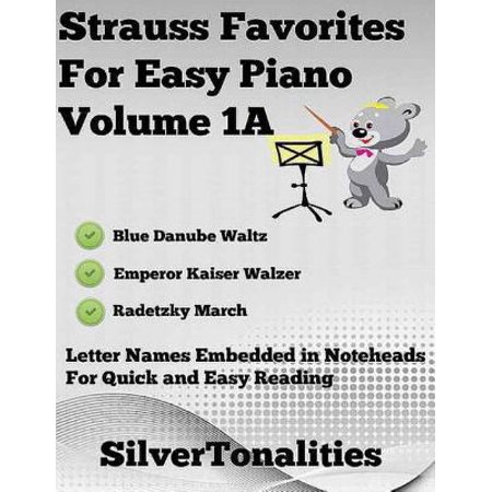 Strauss Favorites for Easy Piano Volume 1 A - eBook