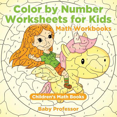 Halloween Math Worksheet Grade 5 (Color by Number Worksheets for Kids - Math Workbooks Children's Math)