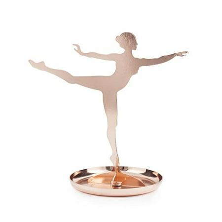 Ballerina Stand - Kikkerland JK08-CO Ballerina Jewelry Stand, Copper