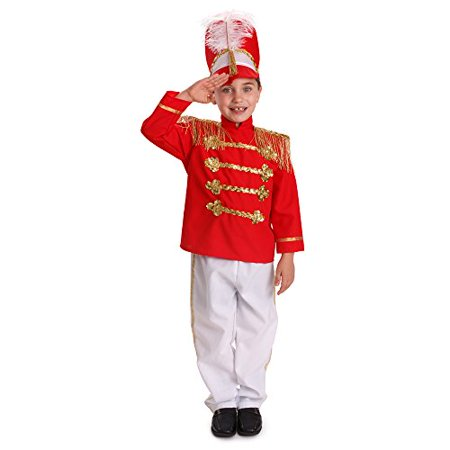 Dress Up America Boys Fancy Drum Major Costume Kids Fancy Marching Band Outfit - Cheap Kids Fancy Dress Costumes