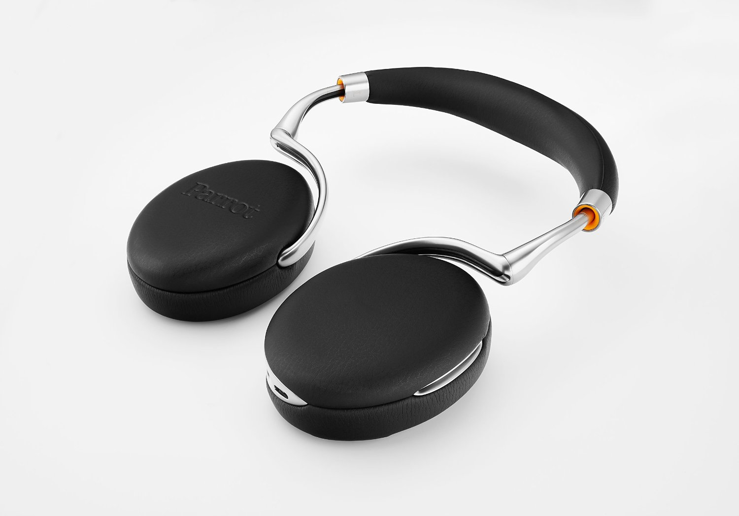 8adc85fa562 Parrot Zik 3 - Black Leather-grain - Walmart.com