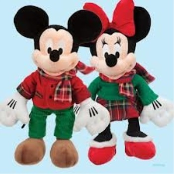 Mickey Mouse 16 Inch Christmas Disney Store Exclusive 2012 Plush