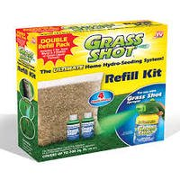 Grass Shot The Ultimate Home Hydro Seeding System, Liquid Spray Seed Lawn Care