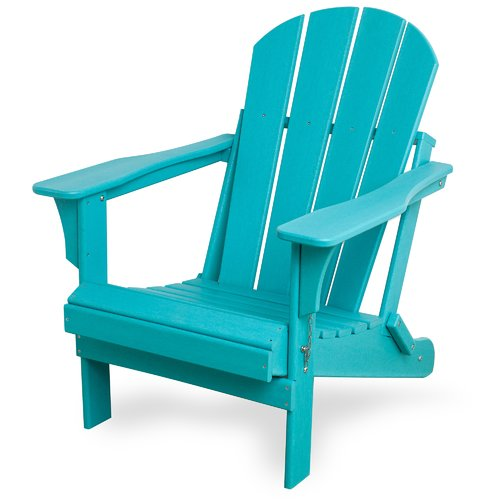 Highland Dunes Alger Resin Folding Adirondack Chair