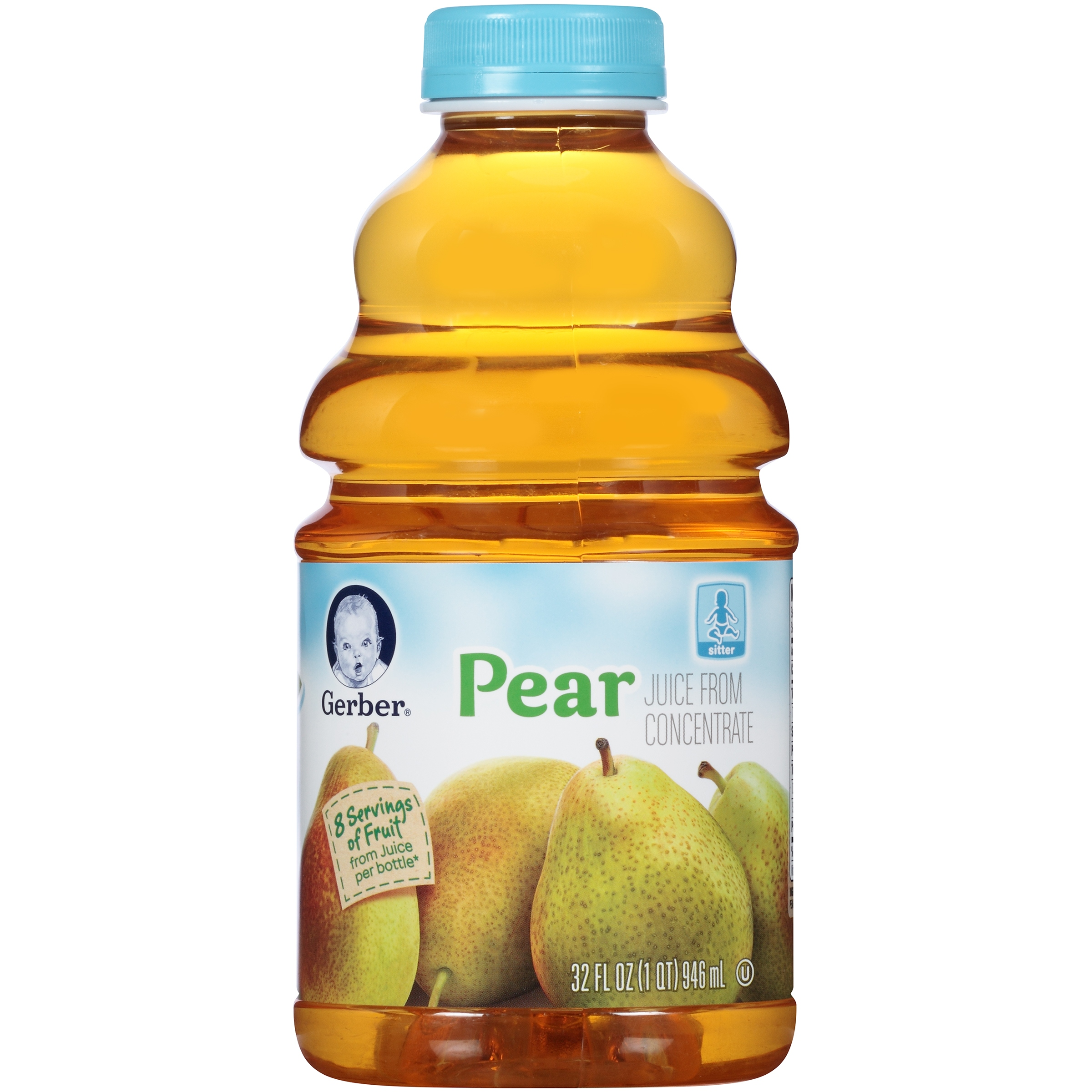 Gerber Juice From Concentrate Pear, 32.0 FL OZ by Gerber Products Co.