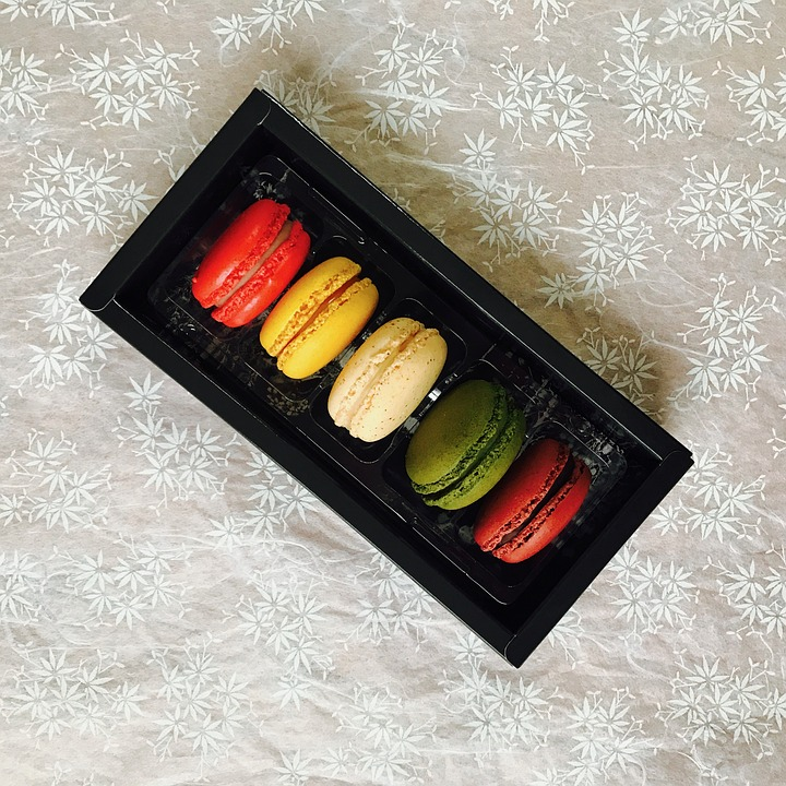 Canvas Print Sweet Reviews Macaroons France Paris Delicious Stretched Canvas 10 x 14