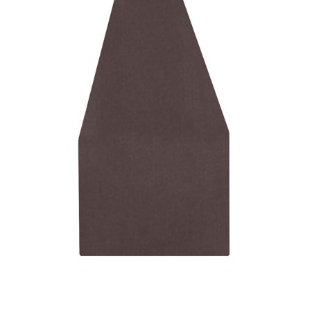 YUSDECOR brown Table Runner for Kitchen Wedding Party Home Decor 14x72 inch - image 4 of 4