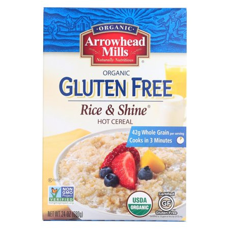 Arrowhead Mills Cereal - Rice And Shine - Gluten Free - Case Of 6 - 24 Oz.