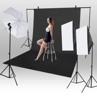FAGINEY 1.6*3m/5.2*9.8ft Photography Chromakey Backdrop Studio Cotton Stand Background , Studio Backdrop, Photography Background