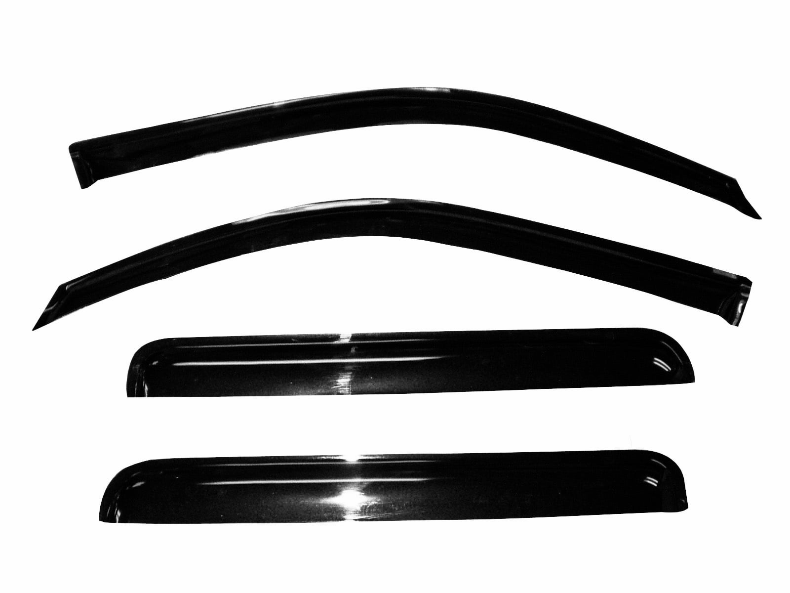 Dodge Ram 1500 Crew Cab Vent Shade Window Visors Rain Guards 09-18