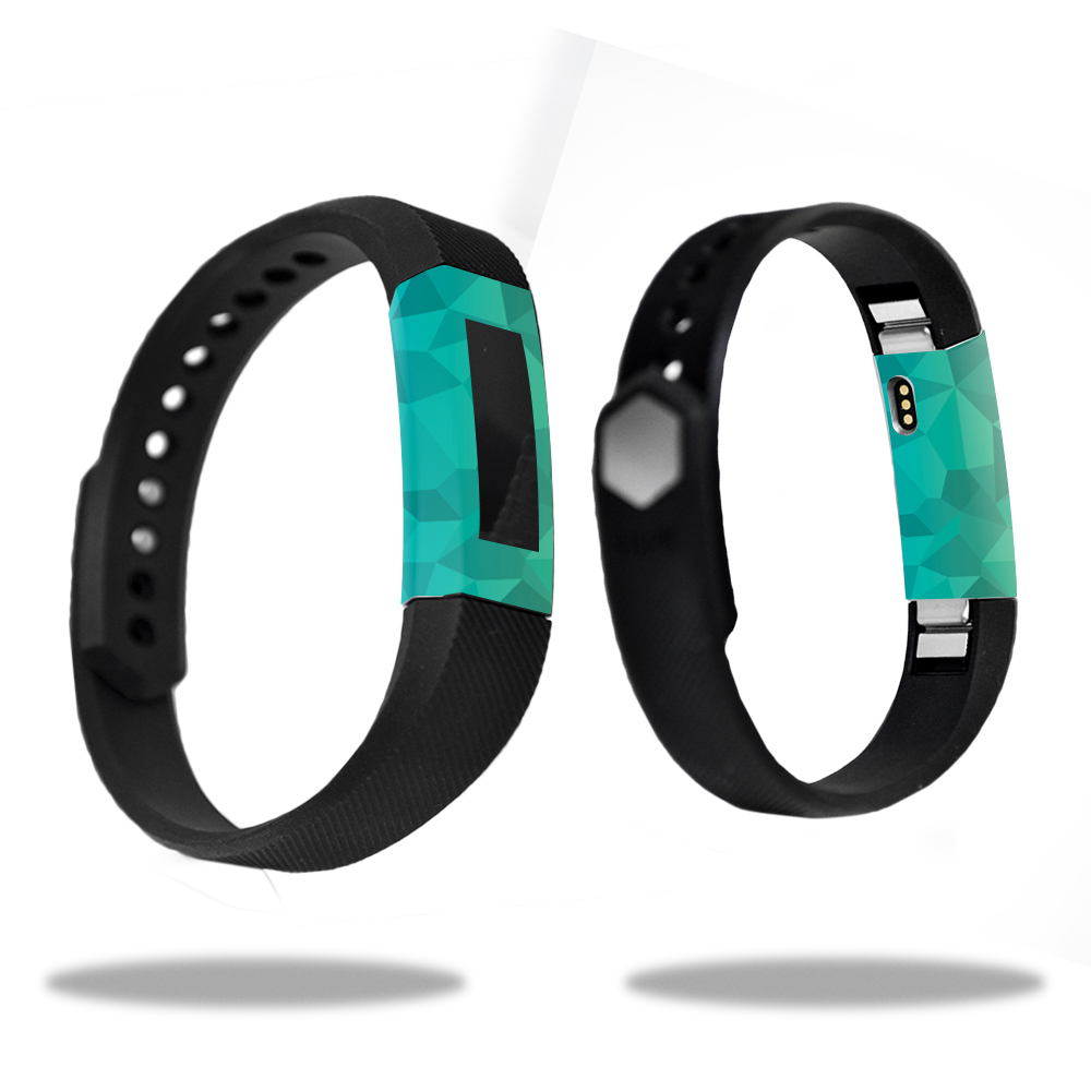 MightySkins Skin for Fitbit Charge 3 - Black Argyle | Protective, Durable, and Unique Vinyl Decal wrap cover | Easy To Apply, Remove, and Change Styles | Made in the USA