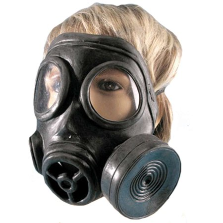 Costume Gas Mask - Scary Halloween Gas Mask