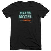 Psycho Bates Motel Mens Tri-Blend Short Sleeve Shirt