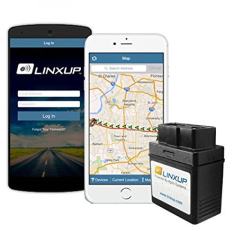 Linxup OBD GPS Tracker with Real Time 3G GPS Tracking, Car Tracking Device and Car Locator, Car GPS LPVAS1 - No