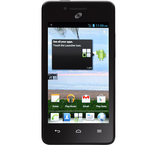 Refurbished Huawei Ascend Plus H881C STHUH881CPWP Prepaid Smartphone Straight Talk