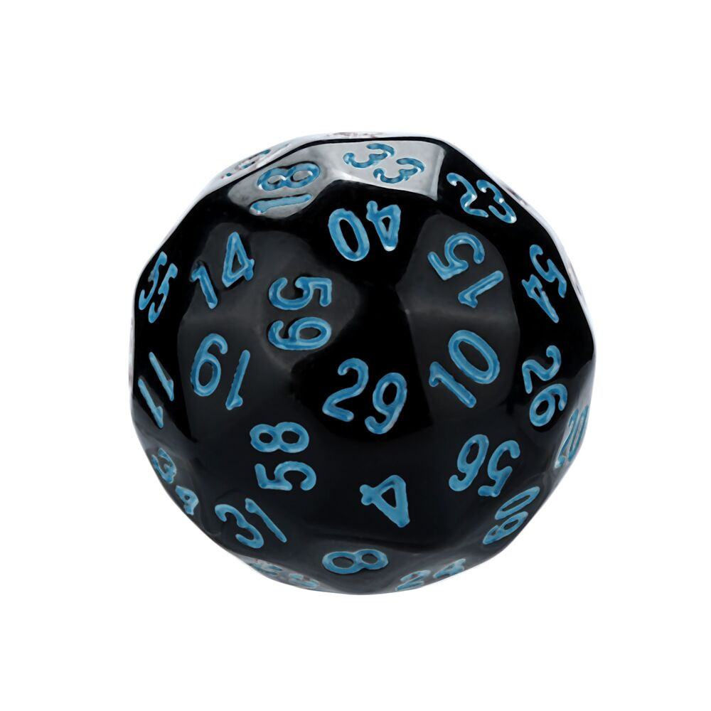 1Pcs Game Dungeons & Dragons Polyhedral D60 Multi Sided Acrylic Dice