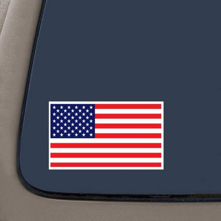 American Flag - Color Sticker - Decal | United States Flag Decal | 4