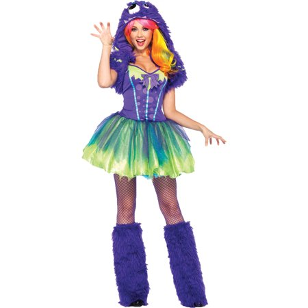 Purple Posh Monster Women's Adult Halloween Costume