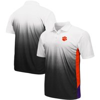 Clemson Tigers Colosseum Magic II Polo - Gray