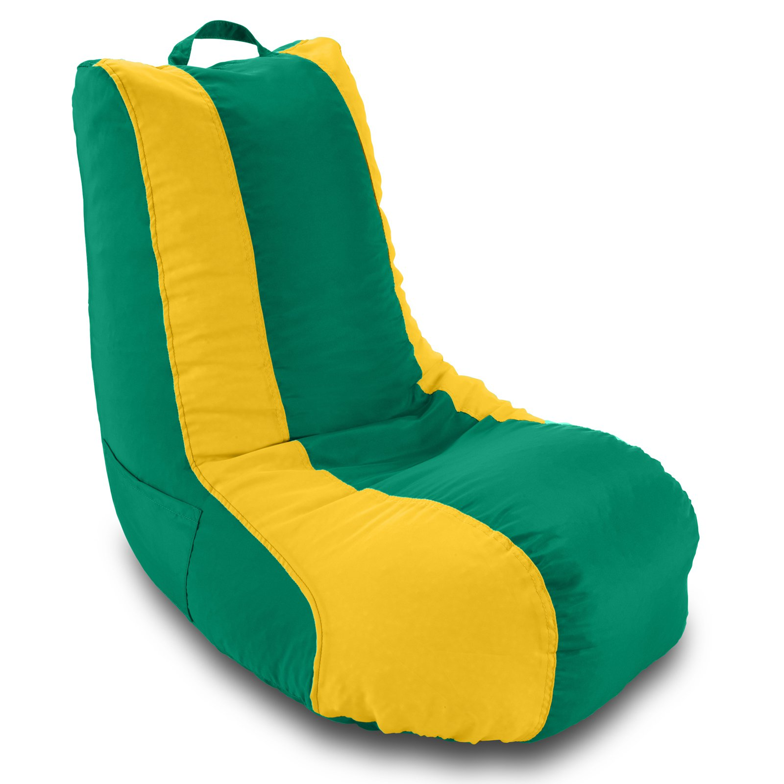 Ace Casual Furniture Medium School Video Game Chair Green Yellow