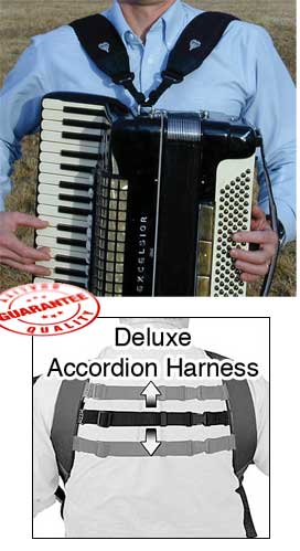 Neotech Deluxe Accordion Harness Straps by Neotech