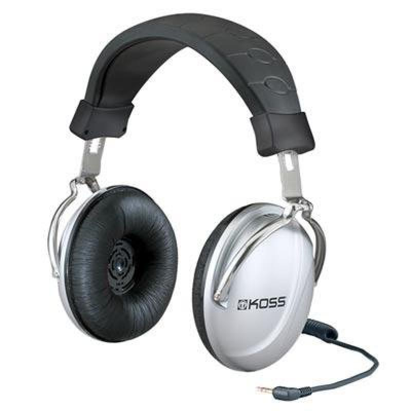 Stereo Headphone-Silver TD85 By Koss