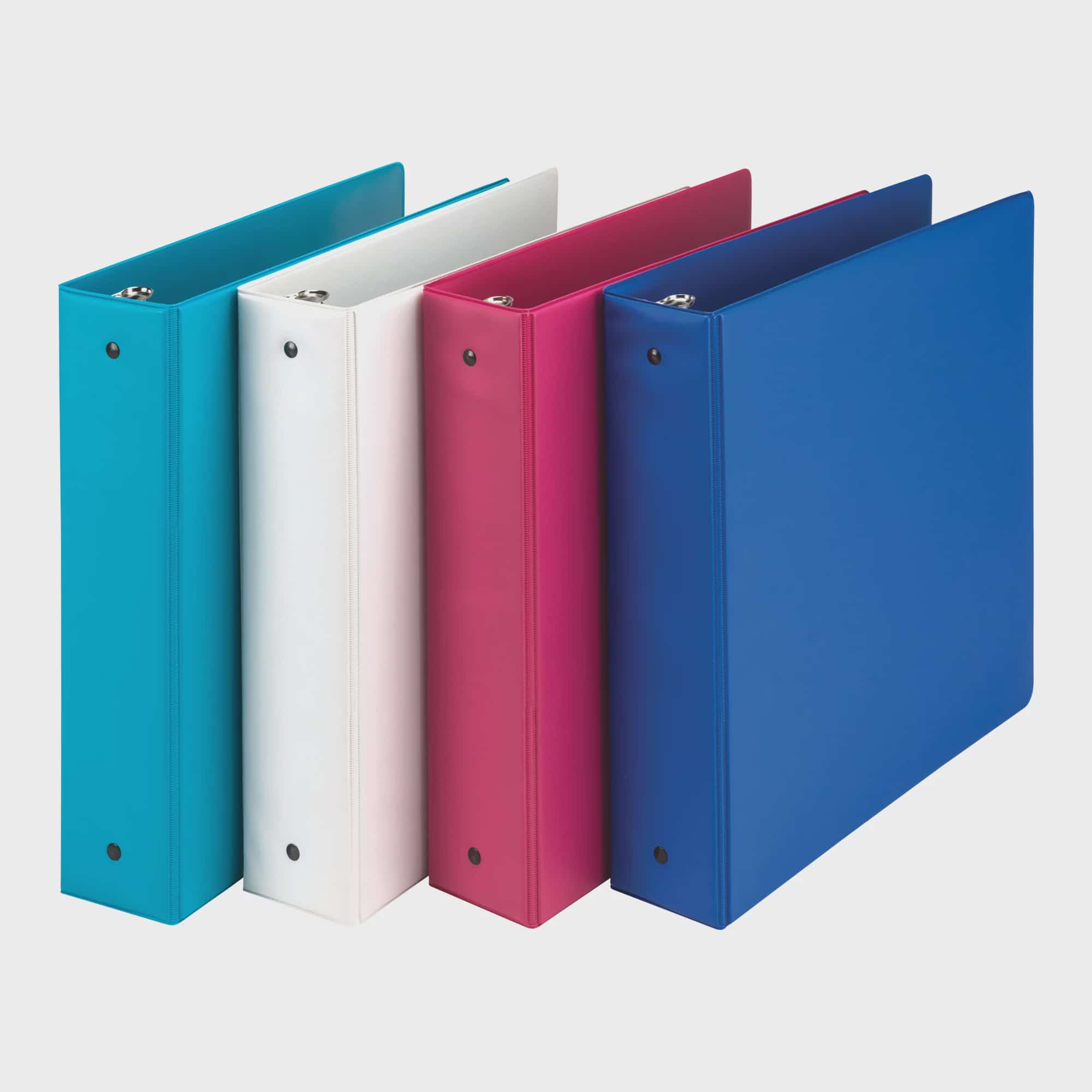 5//Pack Wilson Jones Pink Ribbon Decorative Tab Dividers Assorted 8.5 x 11