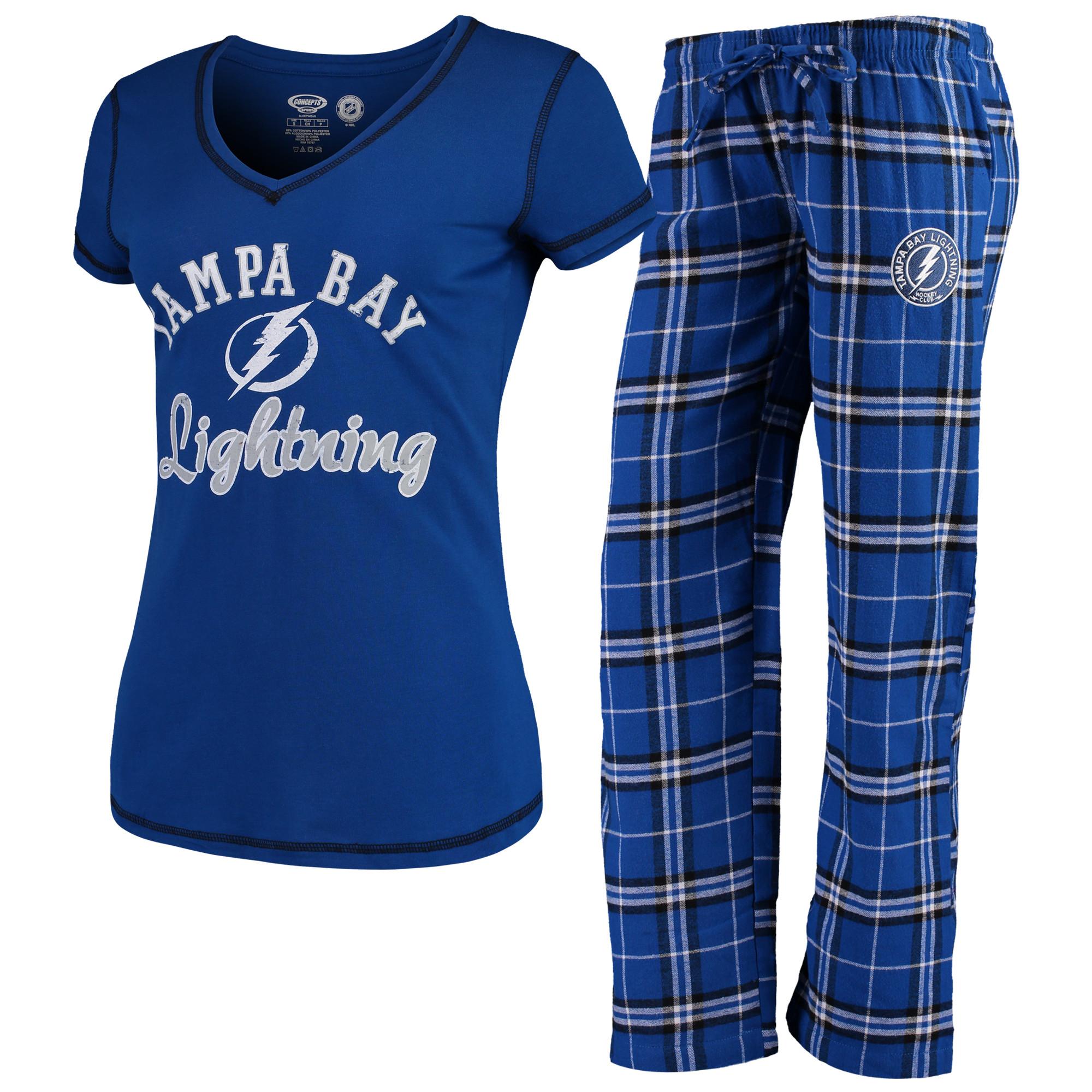 Tampa Bay Lightning Women's Pajama Set Duo Sleep Set