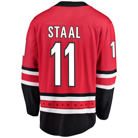 brand new 71aa1 ae05e Jordan Staal Carolina Hurricanes NHL Fanatics Breakaway Home Jersey