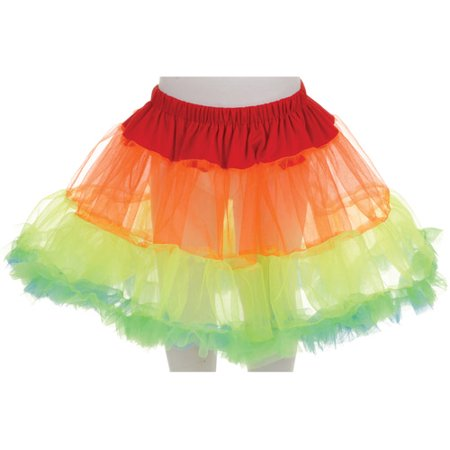 Petticoat Tutu Child Halloween Accessory (Orange Velvet Cupcakes For Halloween)