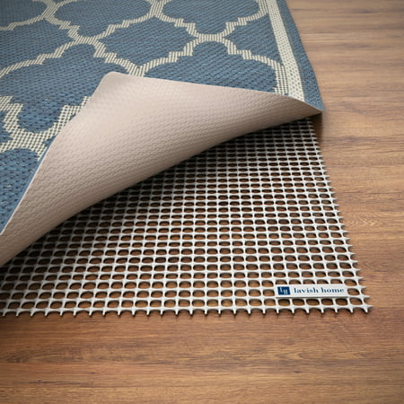 Non Slip Rug Pad Rubber Skid Gripper For Area Rugs On Hard Surfaces And