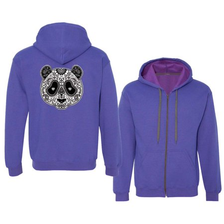 Custom Apparel R Us - Tattoo Art Panda Bear Mens Womens Vintage Zip Up  Hoodie Sweatshirt - Walmart.com 1a5ff1e061