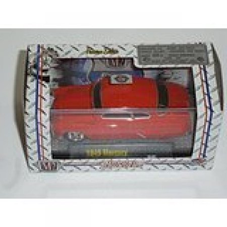 1949 Mercury R9 Red M2 Machines Ground Pounders 1:64 Scale Premium Collectable Die-Cast Vehicle -