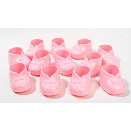 6 Baby Shower Pink Bootie Party Favors Cake Decorations Just Add