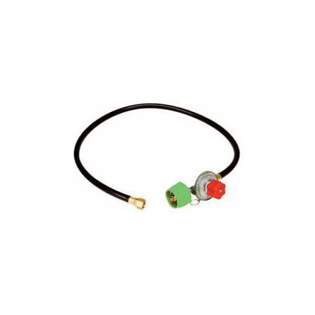 King Kooker #04502 - HP Adjustable Regulator and Hose w/ Female Connection