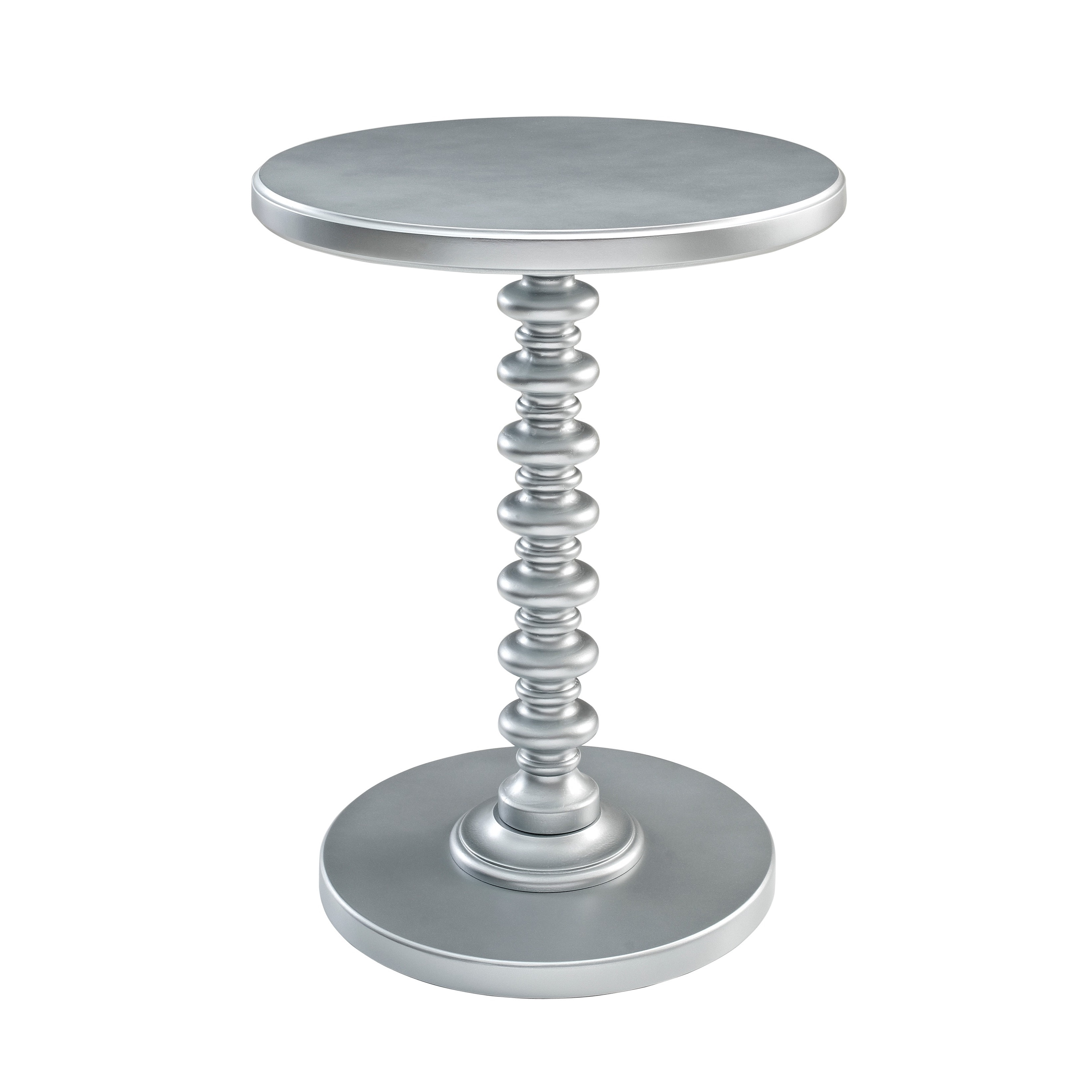 Powell Ariana Round Spindle Table by Overstock