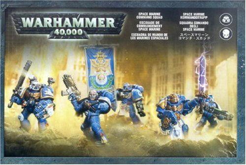 Space Marine Command Squad Warhammer 40k by Warhammer