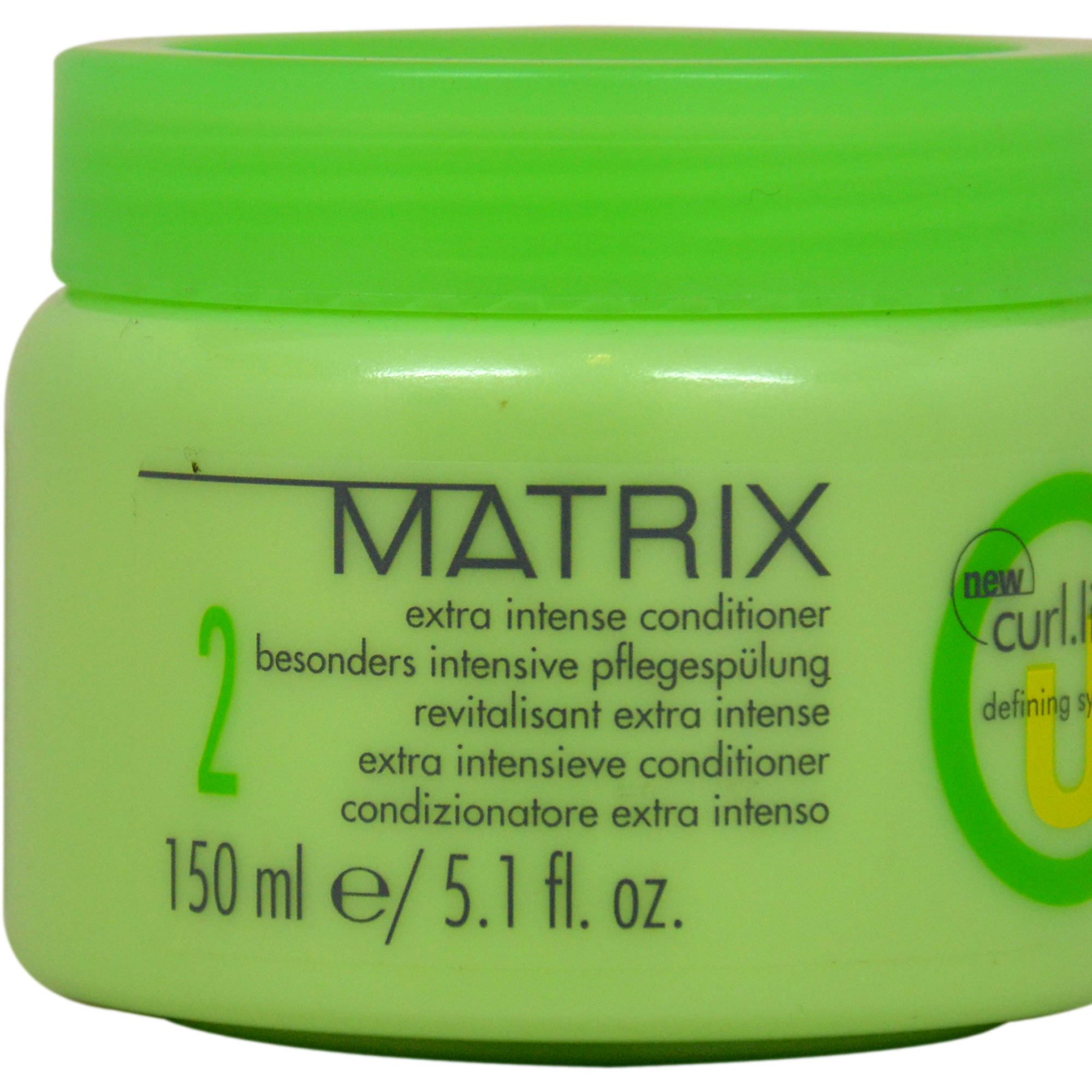 Matrix Curl Life Extra Intense for Unisex Conditioner, 5.1 fl oz