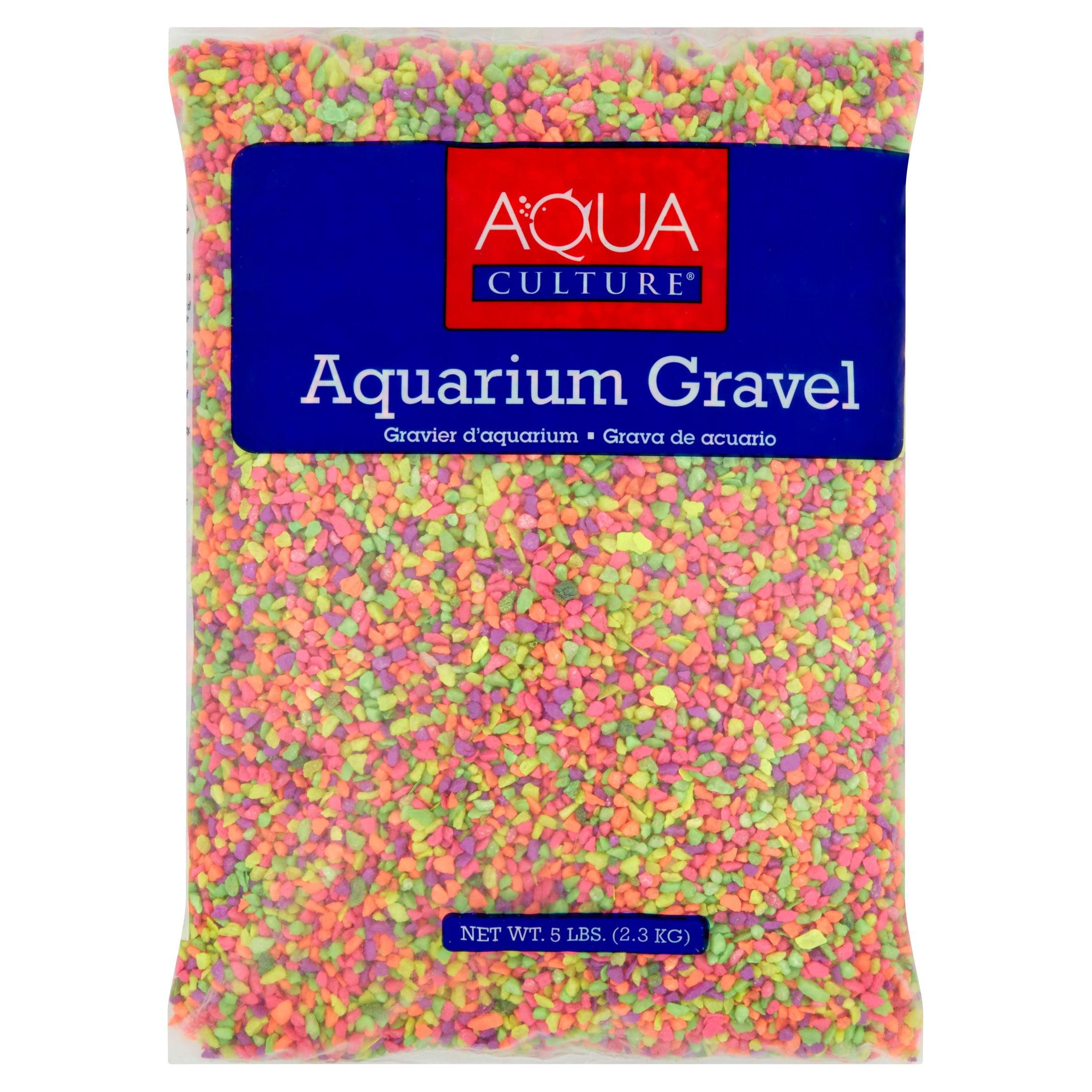 Aquaculture 5 lb Mini Rainbow Aquarium Gravel by Clifford W. Estes Co, Inc