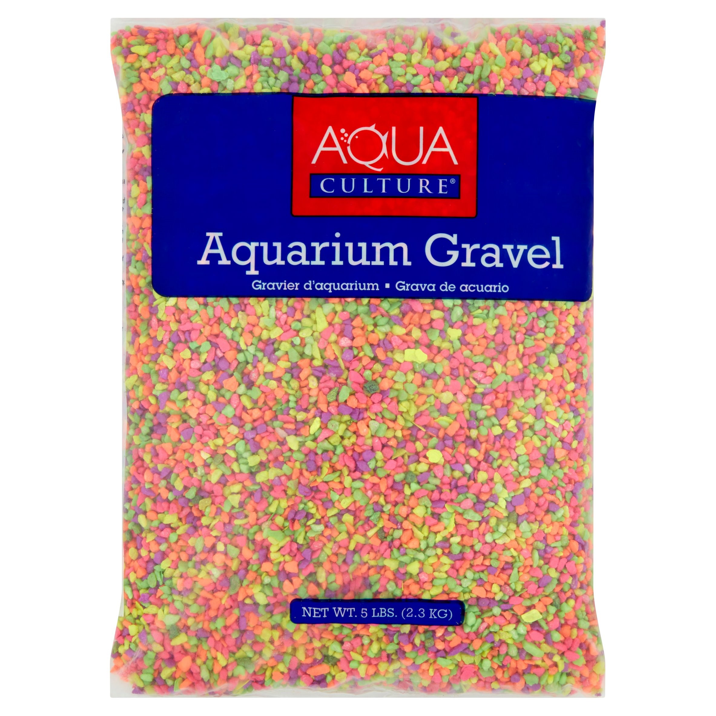 Aquaculture 5 lb Mini Rainbow Aquarium Gravel