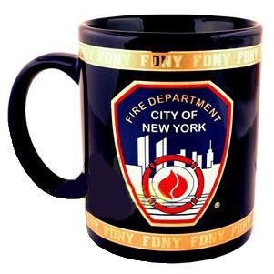 FDNY Coffee Mug Officially Licensed by The New York Fire Department