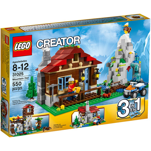 LEGO Creator Mountain Hut Building Set