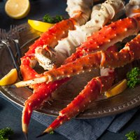 Alaskan Red King Crab Legs Jumbo 10 Lbs (6-9 Count)