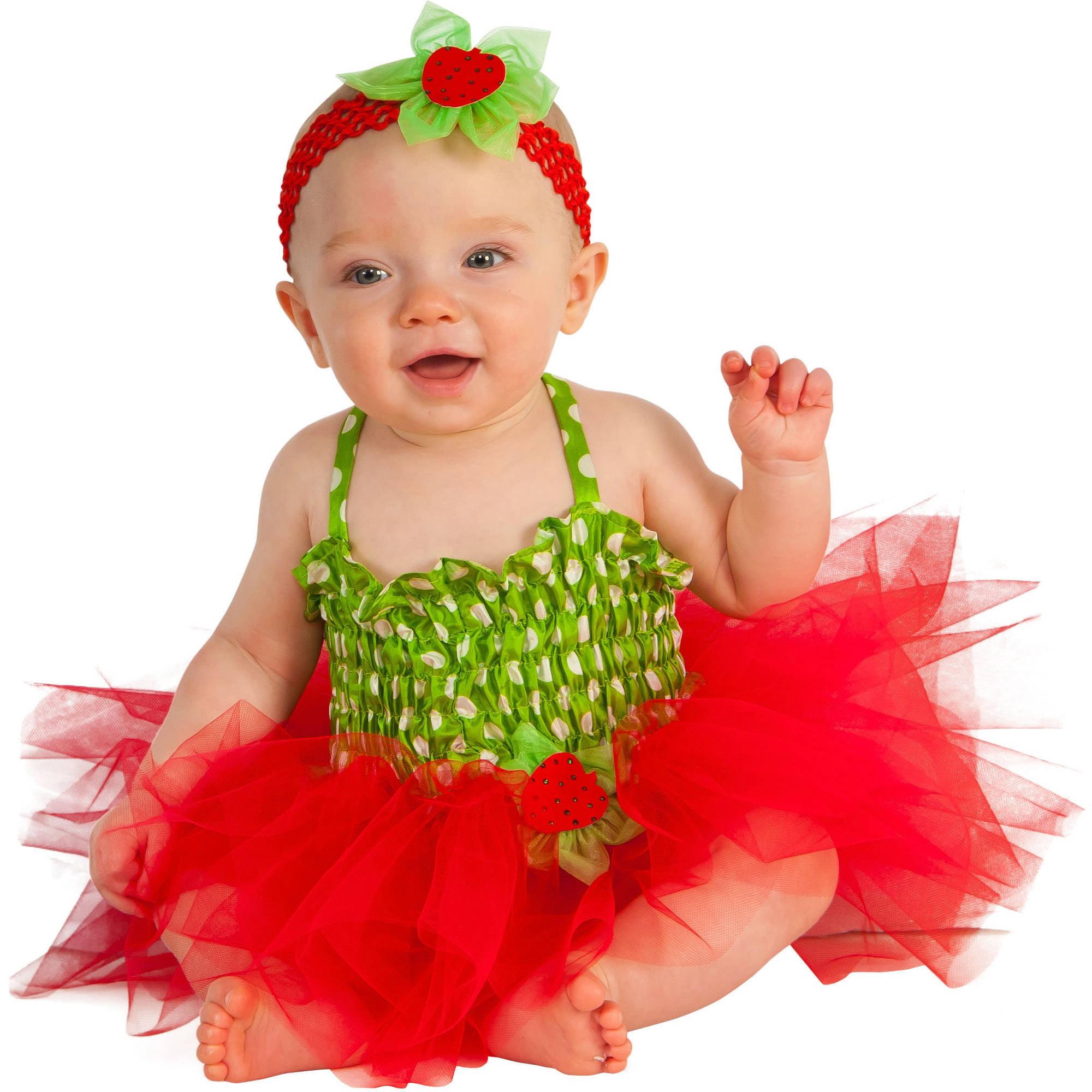 Strawberry Infant Tutu Dress Halloween Costume Walmart