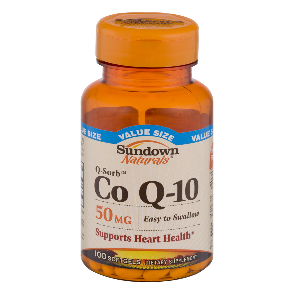 Sundown Coq-10 50mg 100ct Softgels
