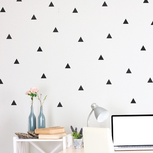 Walls Need Love Triangle Wall Decal