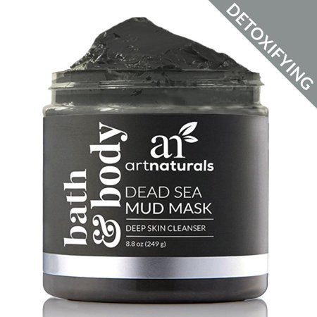 Dead Sea Facial Mud Mask for Natural Beauty Skin Cleanser Purify Spa Treatment