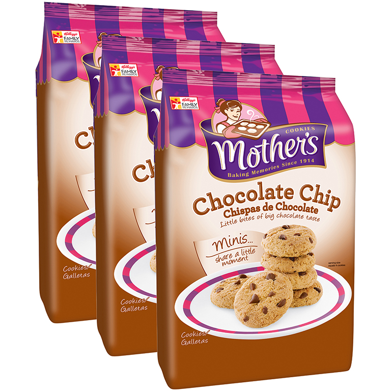 Mother's Chocolate Chip Mini Cookies, 12 Oz.