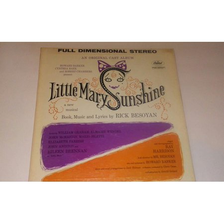 Little Mary Sunshine Original Cast Eileen Brennan LP RECORD Capitol SWAO