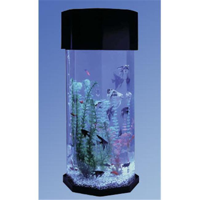 """Midwest Tropical 622 29"""" AquaScape 10 Gallon Octagon Aqua..."""